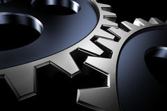 Connection concept. 3d gears. Stock Photo