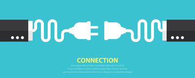 Connection concept Royalty Free Stock Photo