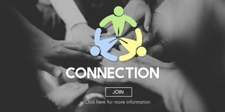 Connection Connect Social Networking Interconnection Concept Royalty Free Stock Photo