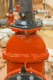 Connection of control valve. Stock Photography