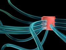 Connection hub Stock Photography
