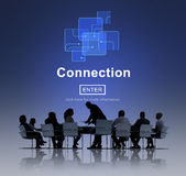 Connection Internet Online Websie Web Page Concept Royalty Free Stock Photography