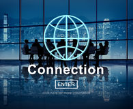 Connection Internet Technology Online Website Concept Royalty Free Stock Photo