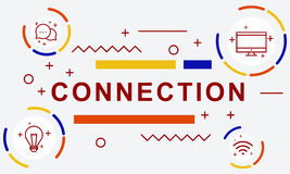 Connection Networking Online Social Network Concept Royalty Free Stock Image