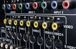 Connection panel Royalty Free Stock Images