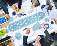 Connection Relationship Togetherness Social Networking Concept Royalty Free Stock Photos