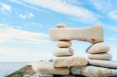 Connective  stones Stock Photo
