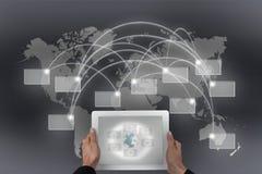 Connectivité globale illustration de vecteur