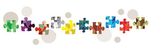 Connectiviteit en diversiteitsconcept Stock Fotografie