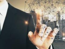 Connectiviteitsconcept Stock Afbeeldingen