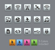 Connectivity Icon -- Satinbox Series Royalty Free Stock Image