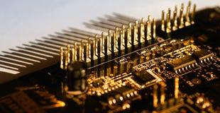 Connector. Printed circuit Connector stock photos