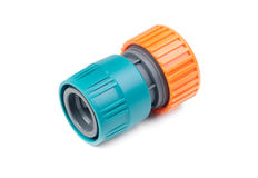 Connector from hose Stock Images
