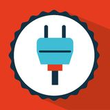 Connector icon design Royalty Free Stock Photography