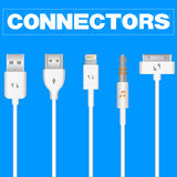 Connectors and Sockets for PC and Mobile Devices Royalty Free Stock Photography