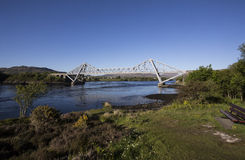 Connel Road Bridge across Loch Etive Stock Photo