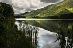 Connemara在一多云天 免版税库存照片