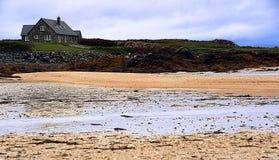 Connemara海岸线 免版税库存图片