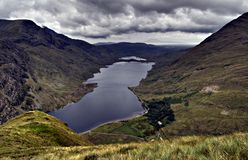 connemara爱尔兰湖 免版税库存图片