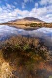 Connemara Berge und See Lizenzfreie Stockbilder