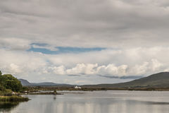 Furnace Lake in Connemara County, Ireland. Stock Photo