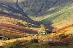 Connemara, de berglicht van Ierland Royalty-vrije Stock Afbeeldingen