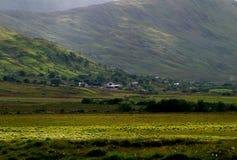 Connemara Felder, Irland Stockfotografie