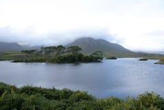 Connemara Ireland. Landscape of a lake in Connemara Ireland Royalty Free Stock Photography