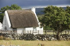 Traditional Old Irish Cottage Royalty Free Stock Photo