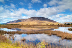 Connemara lake and mountains in Ireland Stock Photography
