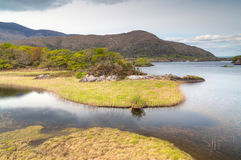 Connemara mountains and lake scenery Royalty Free Stock Photo