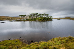 Connemara mountains and lake scenery, Ireland Stock Photo