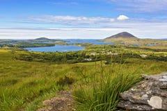 Connemara Nationaal Park Stock Foto