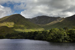 Connemara National Park Royalty Free Stock Photo