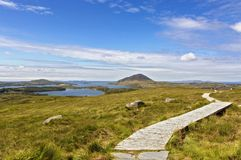 Connemara National Park. Letterfrack. Ireland royalty free stock photography