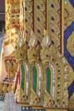 Conner buddhist building detail wat samien nari bangkok thailand temple. Beautiful Conner buddhist building detail wat samien nari bangkok thailand temple Stock Image