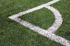 Conner-Fußballplatz Lizenzfreie Stockfotografie