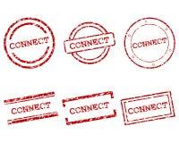 Connetta i bolli Fotografie Stock Libere da Diritti
