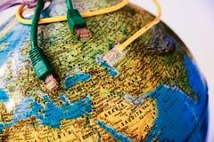 Connetta il mondo Immagini Stock Libere da Diritti
