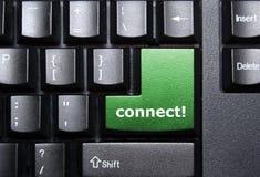 Connetta il tasto Immagine Stock Libera da Diritti
