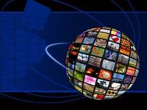 Connettere globale illustrazione vettoriale