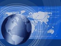 Connettere globale illustrazione di stock