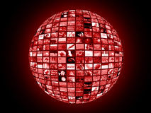 Connettere globale immagini stock libere da diritti