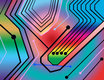 Connettività illustrazione di stock