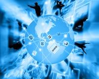 Connettività globale Fotografia Stock Libera da Diritti