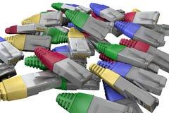 connettore Fotografia Stock Libera da Diritti