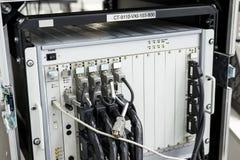 Connettore di cavo ad alta frequenza Fotografia Stock Libera da Diritti