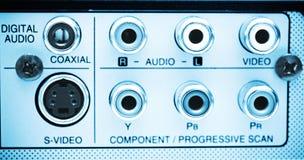 Connettore di DVD Fotografie Stock Libere da Diritti