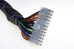 Connettore di potenza di Atx Fotografia Stock Libera da Diritti