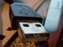Connettore di USB Immagini Stock